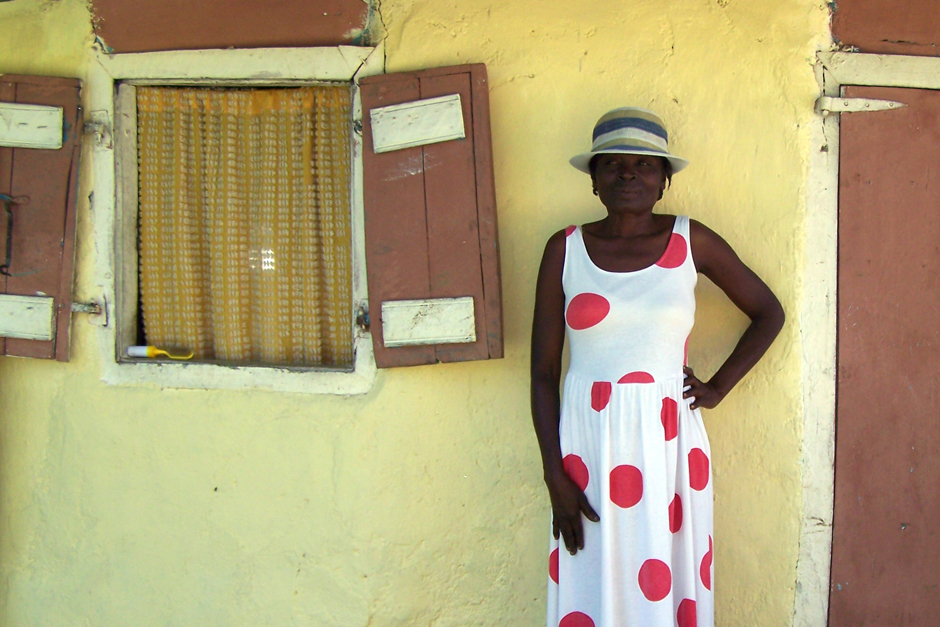 HAITI polkadots