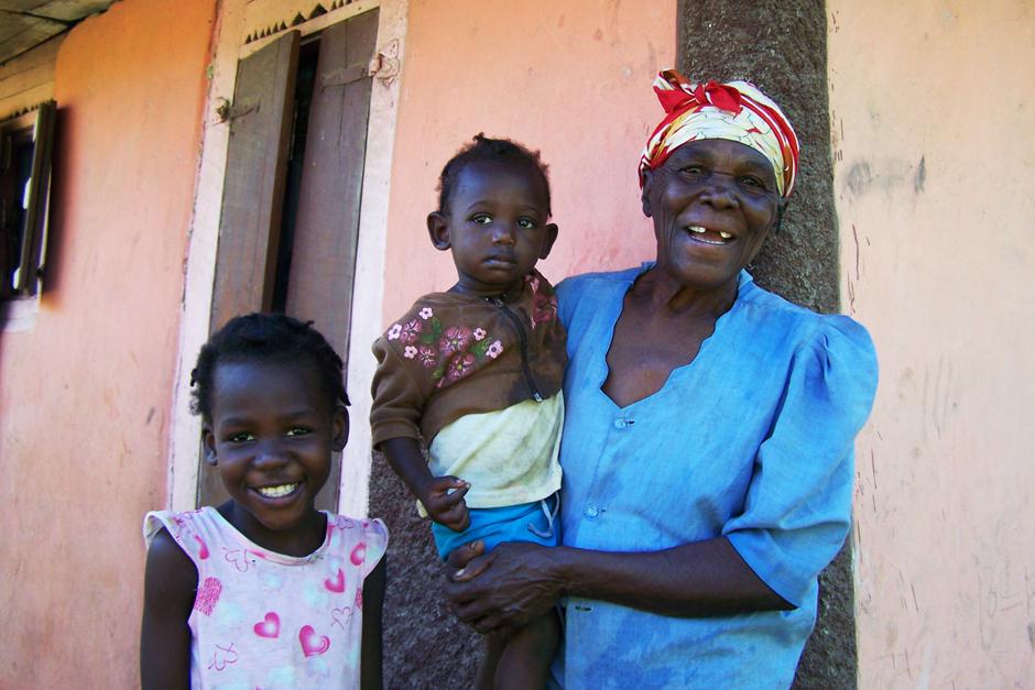 HAITI trio smiling